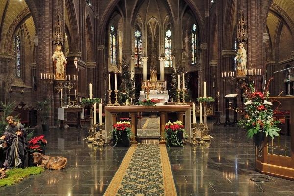 Bonifatius altaar kerst