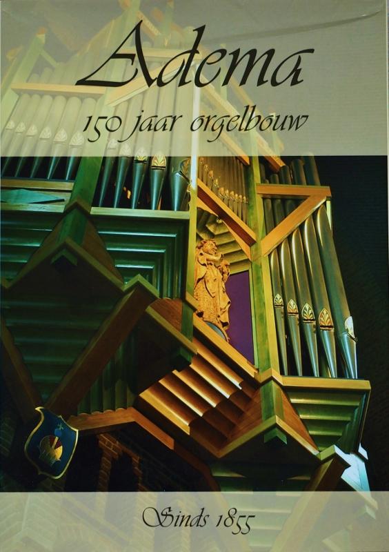 Boek Adema Orgelbouw
